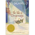 【现货】英文原版 浪漫鼠德佩罗 The Tale of Despereaux 同名电影原著 新版 8-11岁适读 假期