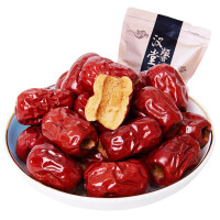 【到手29包邮】【2袋装】汉馨堂 香酥无核脆枣250g*2袋 空心枣 干红枣子真空包装 零食特产