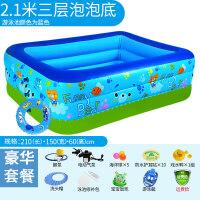 家用游泳池游泳池婴儿家用儿童超大号水上乐园宝宝小孩保温充气游泳池