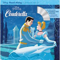 英文原版童书Cinderella Read-Along Storybook,灰姑娘2(书+CD)