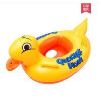 宝宝坐圈户外卡通鸭子游泳圈加厚充气儿童座圈男孩女孩黄鸭新品