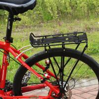 新款山地自行车自行车骑行后车座配件碟刹货架载人后货架书包架