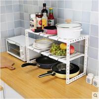 厨房置物架储物架蔬菜架锅架塑料落地水槽道收纳层架