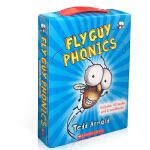 【中商原版】苍蝇小子语音套装英文原版Fly Guy Phonics Boxed Set 学乐自然拼读