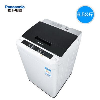 松下(Panasonic) XQB65-Q56231 6.5公斤 一键智能洗涤 省心耐用孝心款 全自动 波轮洗衣机 全国联保!正品行货!