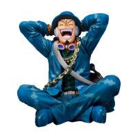 海贼王手办ZERO 20周年 乌索普 附山治罗宾头雕航海王