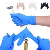 100只装小净士食品级一次性手套女乳胶橡胶防水洗碗防护劳保手套加厚 可选择