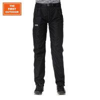 【满299减200】美国第一户外 冬季防水防风透气加绒拼接冲锋裤|FRIST-TEX