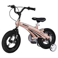 凤凰儿童自行车2-4-6岁童车12/14/16寸小孩单车男女宝宝脚踏车