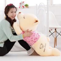 公仔毛绒玩具熊可爱布娃娃女生抱抱熊趴趴熊抱枕睡觉抱女孩