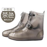 【家装节 夏季狂欢】时尚雨鞋女防水鞋下雨天户外轻便男中短筒透明雨靴儿童套