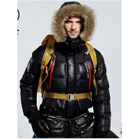 保暖鸭绒羽绒服男款冬装 X04 户外秋冬加厚防寒服外套