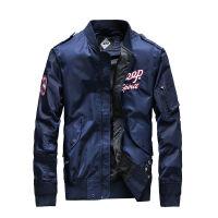 吉普JEEP秋冬新款棒球领罗纹袖口夹克男外套WGQ044尼龙面料茄克衫