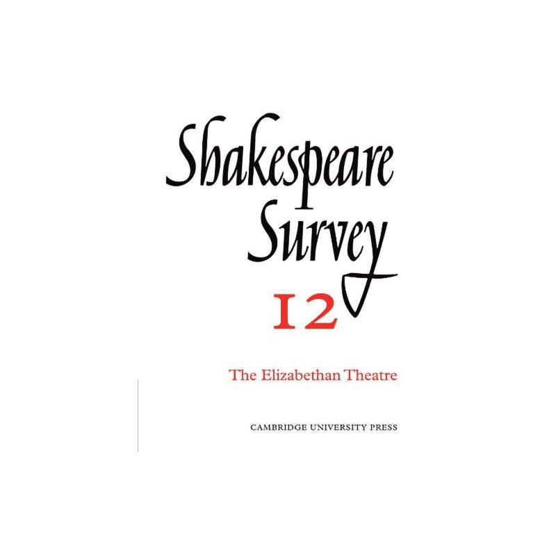 Shakespeare Survey [ISBN: 978-0521523486] 美国发货无法退货,约五到八周到货