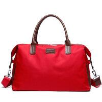 女士手提旅行包手提韩版短途行李包轻便简约旅游袋潮可套拉杆出行