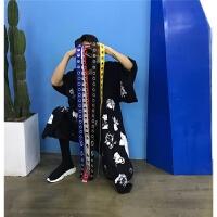 2018 新款韩国风个性定制金属针扣圆环腰带日系原宿风环扣铁环皮带男女潮时尚潮流
