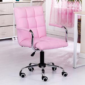 亿家达 电脑椅家用办公椅 自由升降转椅老板椅学习椅西皮电脑椅子