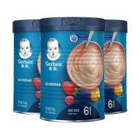 嘉宝缤纷水果营养米粉250g*3(较大婴儿幼儿,6-36个月)