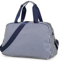 旅行收纳袋衣物整理袋 手提旅行袋斜跨包 防水便携拉杆包
