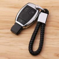 新款奔驰钥匙包GLC260GLA200GLK GLE320GLS400C200LC级钥匙套扣壳男女