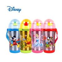 迪士尼儿童保温水杯子 儿童学生不锈钢吸管保温保冷水壶水杯 GX-5711 380ml