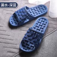凉拖鞋女时尚夏季室内居家用浴室防滑软底新款洗澡拖情侣家居拖鞋男士