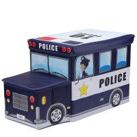 儿童玩具收纳箱可爱卡通零食储物盒宝宝书本箱子整理筐杂物收纳用品