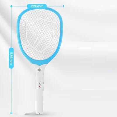 电蚊拍充电式18650锂电池灭蚊子家用USB密网大拍面苍蝇拍家居日用生活日用净化除味