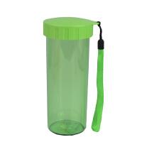 特百惠水杯 莹彩430随手杯便携防漏简约塑料男女学生儿童运动杯子 香瓜绿