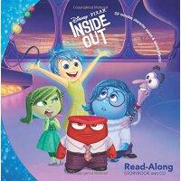 英文原版 头脑特工队 书+CD 有声读物 Inside Out Read-Along Storybook and CD