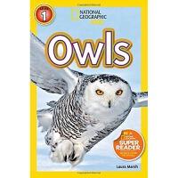 英文原版 National Geographic Readers:Owls国家地理 猫头鹰
