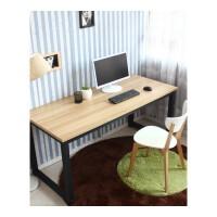 现代简约台式电脑桌双人办公桌简易家用写字桌书桌长条桌长方形桌