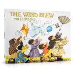 顺丰发货 The Wind Blew 风吹起来 Pat Hutchins(帕特・哈钦斯)英国凯特格林纳威大奖绘本