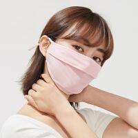 防晒口罩女冬防紫外线防尘透气可清洗面罩全脸防寒风