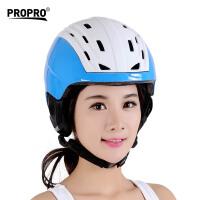 单板护具滑雪装备男女一体成型透气舒适头盔滑雪头盔