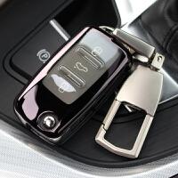 ?大众钥匙套速腾朗逸钥匙包途观帕萨特甲壳虫POLO车钥匙壳/扣?