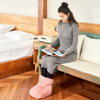 南极人暖脚宝插电电暖鞋暖脚器电加热暖脚垫电热保暖鞋卡通可拆洗