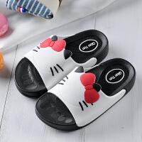 小孩�底浴室�鐾闲�夏季�H子�和�拖鞋女孩室�认丛璺阑�一字拖
