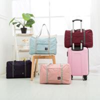 折�B旅行包可套�U箱行里包旅行包手大容量女�p便�b服行李袋 大