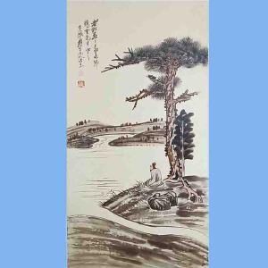 """中国著名的泼墨画家,书法家,具有极大的国际声誉,被西方誉为""""东方之笔""""张大千(人物)3"""