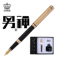 duke公爵钢笔办公签字笔学生用笔墨水礼盒套装定制刻字西雅图系列