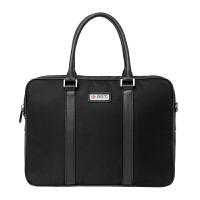 BET.商务休闲时尚手提公文包电脑包黑色53001B