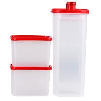 特百惠正品 纤巧组合会员套装/2L纤巧壶0.8L冷藏保鲜盒酵素冷水壶