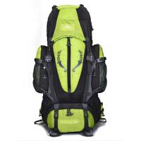 时尚80L大容量带支架户外男女双肩登山包 专业旅游背包 防水旅行包