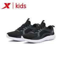特步正品童鞋女童中大童运动鞋跑鞋耐磨时尚休闲夏秋新款商场同款682214115671