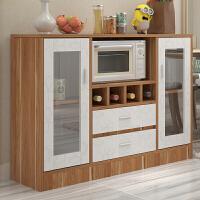 亿家达 餐边柜现代简约厨柜子 碗柜厨房柜子储物收纳柜餐厅边柜备餐柜子