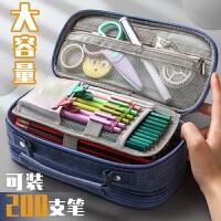 文具袋大容量笔袋学生铅笔盒铅笔袋简约韩国男女文具盒笔袋