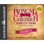 【预订】The Boxcar Children Collection Volume 15: The Mystery o