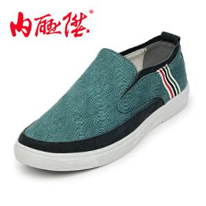 内联升内联升男鞋布鞋春秋时尚透气潮男休闲老北京布鞋6247C