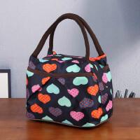 手提包加厚三层牛津布手拎包便当包饭盒袋妈咪包手提包小布包女包